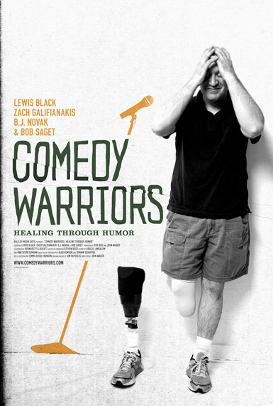 COMEDY WARRIORS: HEALING THROUGH HUMOR, Directed by John Wager