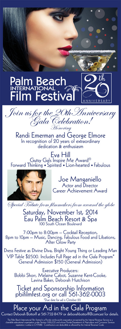 20th Anniversary Gala Celebration